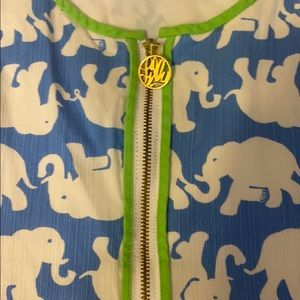 Lilly Pulitzer Dresses - Rare Lilly Pulitzer elephant shift dress